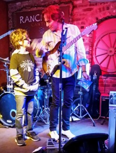 Jasper & Dave Fields at RANCHERO CANTINA